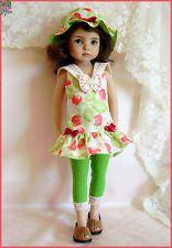 """MARINA Fraises des Bois Outfit for Effner 13"""" Little Darling"""