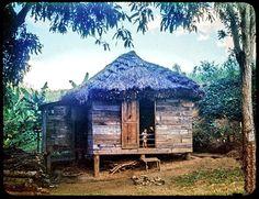 viejas fotos de puerto rico | ... de paja y tablas de palma de coco ,osubo o yagrumo de los años 1945