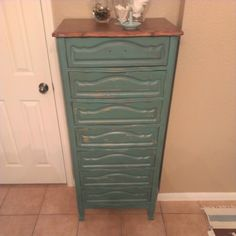 Dresser redo. Need pulls Dresser, Lowboy, Chest Of Drawers, Dresser Top, Credenza, Dressers, Tack Box, Closets