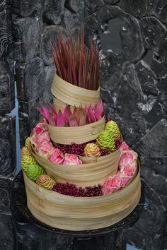 """Démonstration florale réalisée par Bp lors de """"rungis sensation"""" pour la société Penja à Rungis (2013)."""