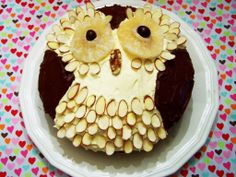 Owl Cake #howto #tutorial