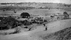 Tropas chilenas avanzan después de la Batalla de Chorrillos.