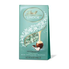 Shop Specialty Foods, Candy & Snacks: Gift & Home Coconut Milk Chocolate, Melting White Chocolate, Chocolate Shells, Lindt Truffles, Lindt Lindor, Chocolate Truffles, Chocolate Stores, Junk Food Snacks, Gold Gift Boxes