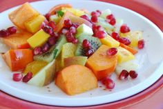 Food Blogga: Eat Christmas Fruit Salad, the Anti-Cookie Post