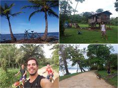 Qué hacer en Panamá - Ruta en bici a Playa Bluff en Bocas del Toro