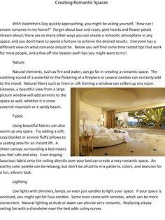 Romantic decorating, page 1
