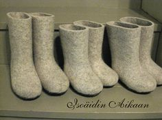 huopatossut - finnish felt boots