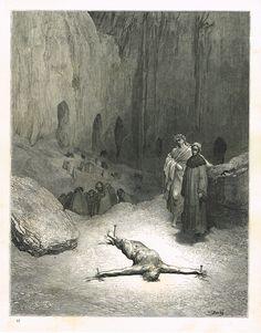 La Divine Comédie - L'enfer - illustration de Gustave Doré gravée par Monvoisin - planche 52