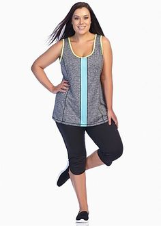Active wear | plus size activewear - TRANSFORM TANK - TS14