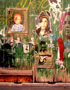 """Saatchi Art Artist: ANGEL GUERRERO FERRER; Acrylic 2013 Painting """"AMY"""""""