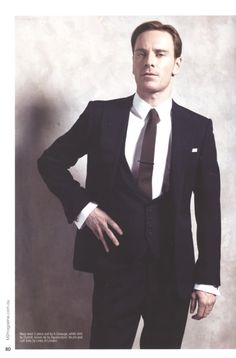 Michael Fassbender...has there ever been a more appealing man? don't think so...
