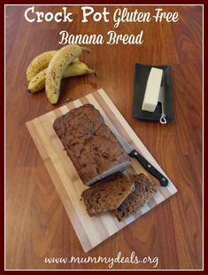 Crock Pot Gluten Free Banana Bread - Mummy Deals