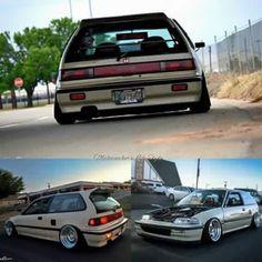 Honda Civic '89 Honda Civic Hatchback, Honda Crx, Honda Civic Si, Civic Jdm, Honda Type R, Good Looking Cars, Old School Cars, Performance Cars, Japanese Cars