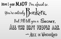 alice in wonderland quotes - Google-søk
