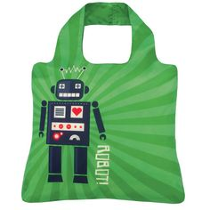 Eco-Friendly Reusable Bag, Robot