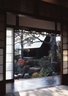 Sheet metal house, a modern Japanese Tea House located in Osaka, Japan.