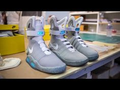 Back to the Future 2 Nike Air Mag Replicas! - YouTube