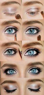 eyeshadow for blue/grey eyes
