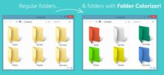 Bored of looking at the same folder color then want to make your folders color full and easily recognizable so when ever we want to find a folder then it becomes more easier to find it they are many ways to do it by using software's here is the best way to do it. Tutorial …