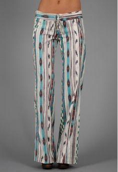 is it weird that I like these? GEORGE-Pink and Turquoise ikat St. Bart's available at Singer22.com