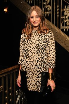 Animal print always...what does she do?