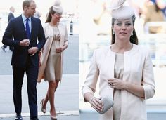 Toda nude, Kate Middleton acompanha missa pelos 60 anos da coroação da Rainha Elizabeth | Chic - Gloria Kalil: Moda, Beleza, Cultura e Comportamento