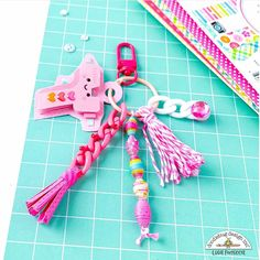 52 Reasons, How To Make Tassels, Cute Charms, Personalized Items, Measuring Spoons, Mini Albums, Super Cute, Crafty, Projects