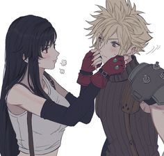Bright and optimistic, Tifa always cheers up the others when they're down. Final Fantasy 7 Tifa, Final Fantasy Characters, Final Fantasy Artwork, Final Fantasy Vii Remake, Tifa Ff7 Remake, Figura Iron Man, Cloud And Tifa, Cloud Strife, Cute Anime Couples