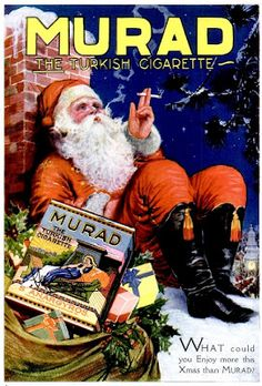 Murad cigarettes (Popular Science Dec. 1920)  More on: http://publicites-anciennes.blogspot.fr