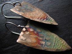bronze earrings- celie fago