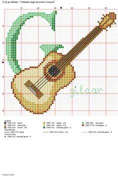 Alfabeto degli strumenti musicali: G