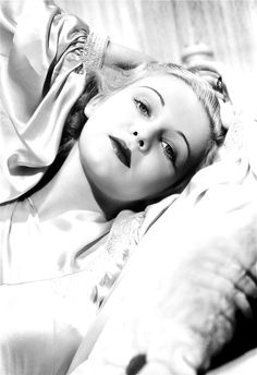 "Madeleine Carroll was the first notable of Alfred Hitchcock's ""icy-cool"" blondes being cast in both The 39 Steps (1935) and Secret Agent (1936)."