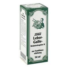LEBER GALLE Kräutertropfen N Salus 50 Milliliter