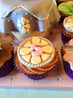 Cakes By Jacques - Beautiful Bespoke Cakes, Biscuits and Cupcakes: Sofia the First Birthday Cake and Cupcakes