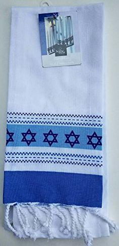 Hanukkah Star of David White & Blue Kitchen Towels Set of... https://www.amazon.com/dp/B01N6HBBSO/ref=cm_sw_r_pi_dp_x_1dR3ybWE1V2K9