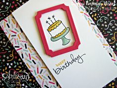 Endless Birthday Wishes - Stamping With Val - get everything you need for this card here. X