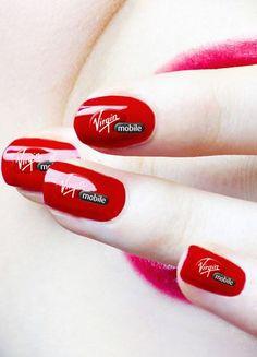 #red #nails czerwone paznokcie
