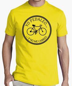 #Camiseta yo pedaleo y no me cabreo #bicicleta