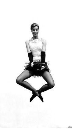 Christy Turlington in Vogue Paris 1991 photographed by Arthur Elgort.