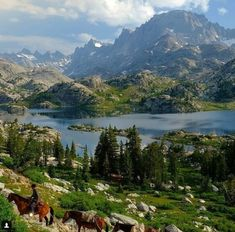 Heaven is a vast, endless place, certainly bigger than the state of Wyoming. However, if pressed to pick just one spot in the state that is truly Heaven on Earth, the Wind River Range would win, hands-down.