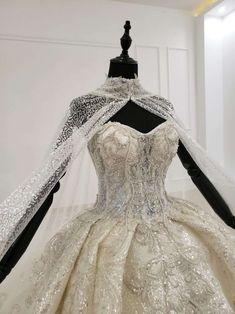 Queen Wedding Dress, Royal Wedding Gowns, Queen Dress, Luxury Wedding Dress, Wedding Dress Sizes, Ballgown Wedding Dress, Royal Ball Gowns, Turkish Wedding Dress, Diamond Wedding Dress