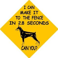 I had a sign just like this on our property growing up...except it was a Rottie =)
