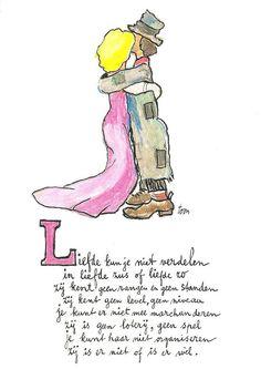 Toon Hermans - Liefde - Dit gedichtje stond op mijn trouwkaart