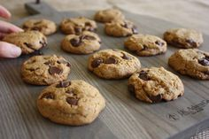 This recipe is dedicated to my husband, Peyman (Pay-mon).  He has simple taste when it comes to cookies.  He doesn't…