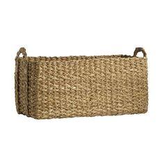 Braided Console Basket | west elm