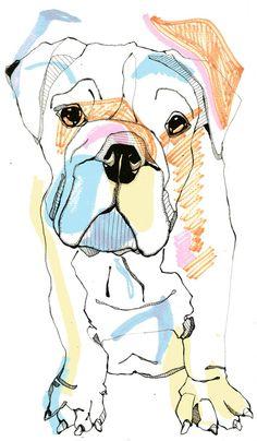 bulldog color. by Caseysplace