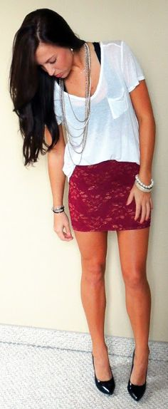I would love this if the skirt was a pair of shorts