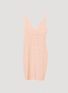 Vestido ajustado punto - Vestidos y faldas - Colección - Uterqüe España