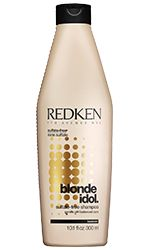 Blonde Idol Sulfate-Free Shampoo For Blonde Hair by Redken. Gentle, daily cleanser moisturizes your hair while softening, protecting color, and boosting shine.