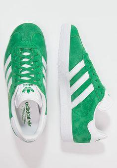 adidas Originals GAZELLE - Sneaker low - green/white/gold metallic für 99,95 € (14.02.17) versandkostenfrei bei Zalando bestellen.